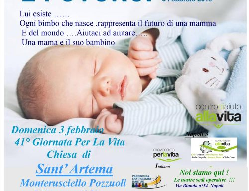 41a Giornata Della Vita – Parrocchia S.Artema